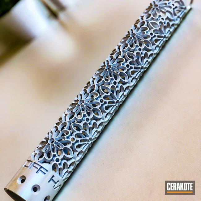 Cerakoted: Hidden White H-242,Custom Mix,Custom,OffHand Gear,Handguard