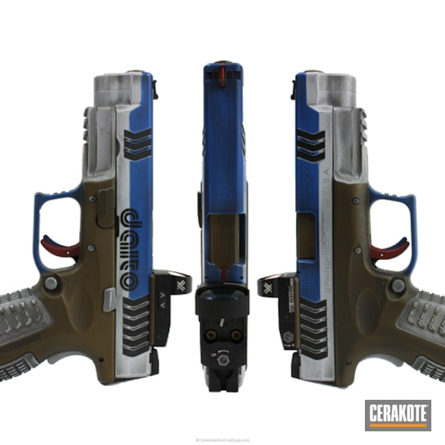 "Thumbnail image for project ""Springfield XD-9 done in a Custom Cerakote Finish"""