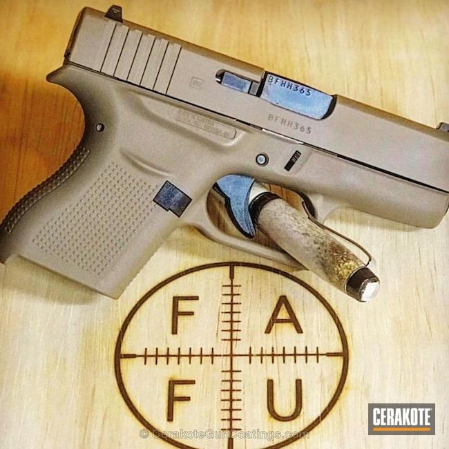 Cerakoted: Pistol,Glock,GLOCK® FDE H-261,Glock 43