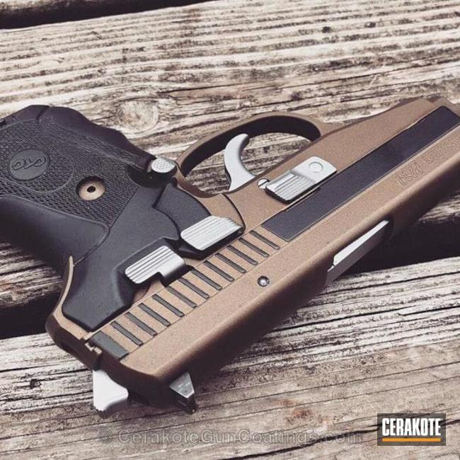 Cerakoted: Graphite Black H-146,Stainless H-152,Burnt Bronze H-148,Pistol,Sig Sauer