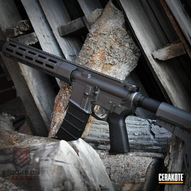 Cerakoted: Custom Mix,Graphite Black H-146,Tungsten H-237,Tactical Rifle