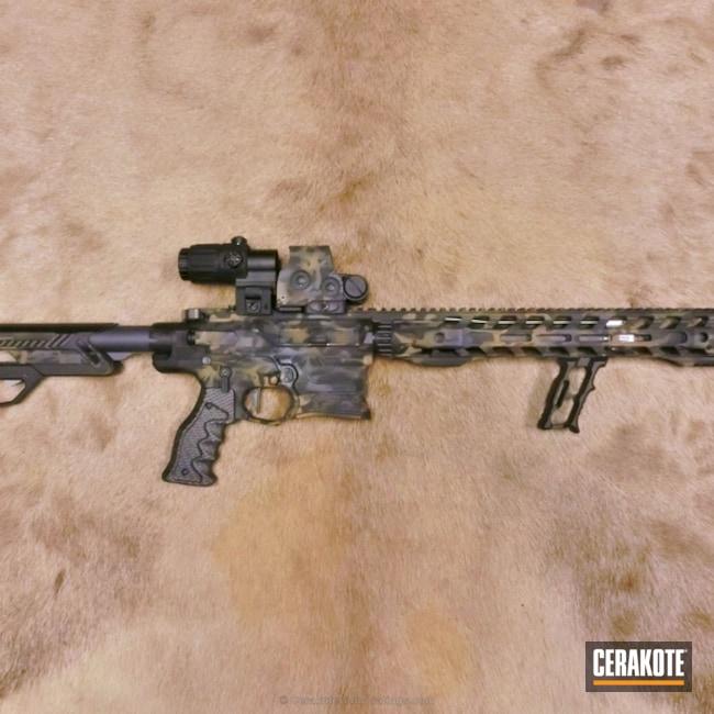 Cerakoted: Sniper Grey H-234,Graphite Black H-146,Cobalt Kinetics,Burnt Bronze H-148,Tactical Rifle,AR-15