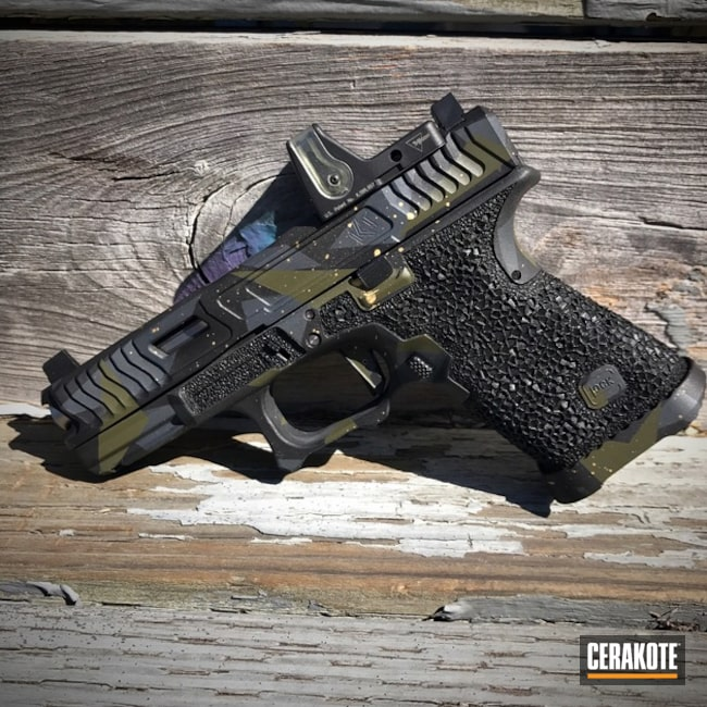 Loki Tactical Slide Cut with Shinobi Tactical Stippling