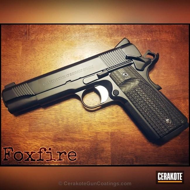 Cerakoted: Graphite Black H-146,Pistol,1911,Wilson Combat