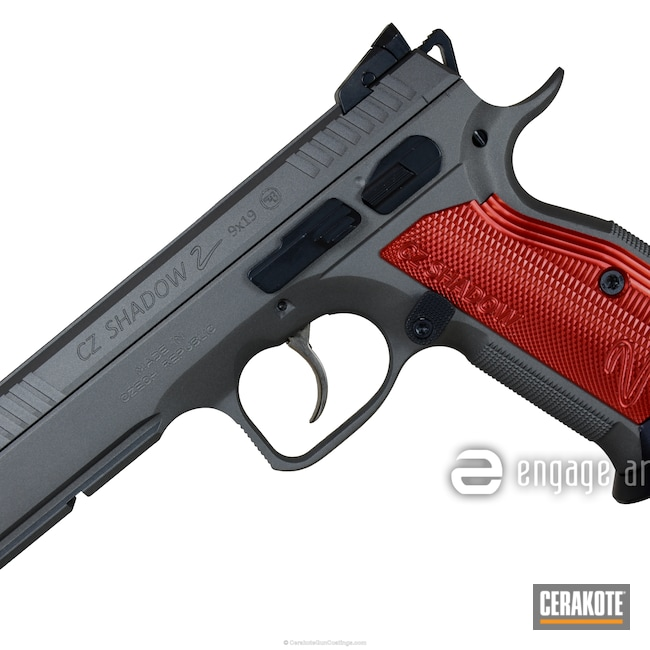 Cerakoted: CZ Shadow 2,Tungsten H-237,Pistol,CZ