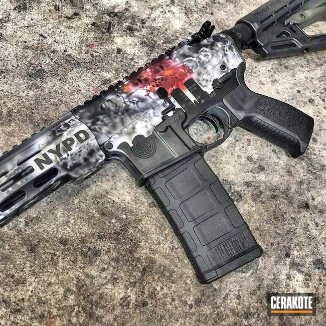 Cerakoted Sig Sauer Tactical Rifle