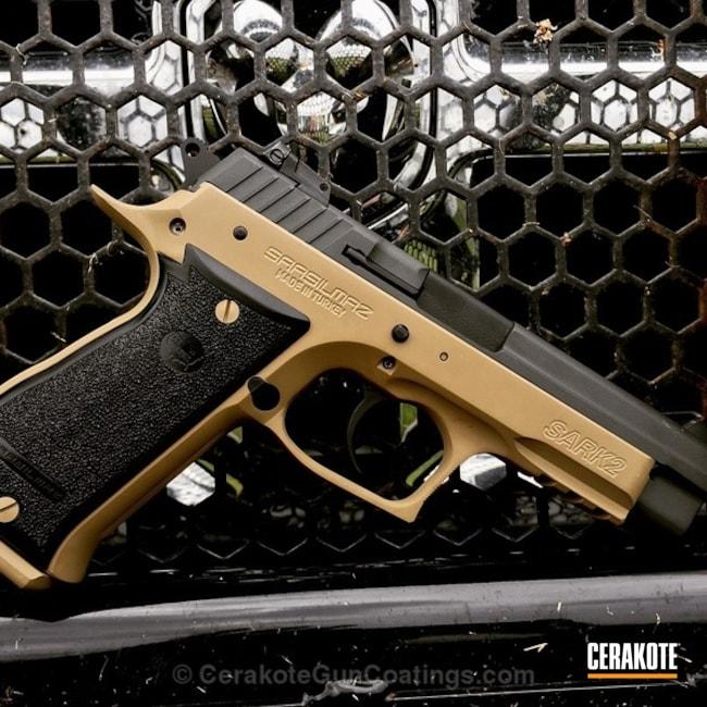 Cerakoted: 9mm,Coyote Tan H-235,Armor Black H-190,Pistol,Sar,CZ,SIG™ DARK GREY H-210,Sarsilmaz Armory