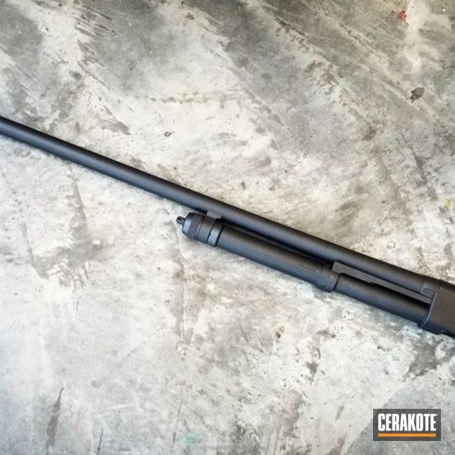 Cerakoted: Sniper Grey H-234,Winchester,Shotgun,Restoration,Winchester 120,Corrosion Protection,Gun Parts,Pump-action Shotgun
