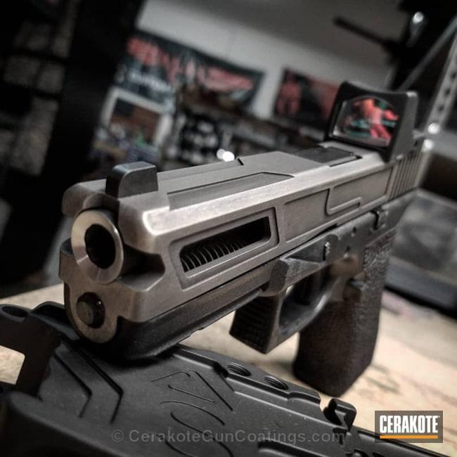 Cerakoted: Graphite Black H-146,Stainless H-152,Pistol,Glock