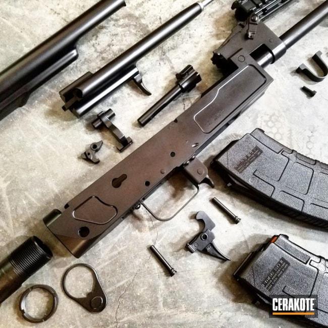 Cerakoted: Graphite Black H-146,Sharps Brothers,Gun Parts,AK-47,AK Rifle