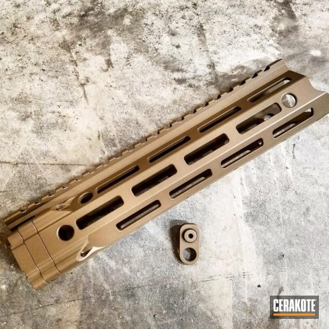 Cerakoted: Rail,Solid Tone,Gun Parts,Flat Dark Earth H-265