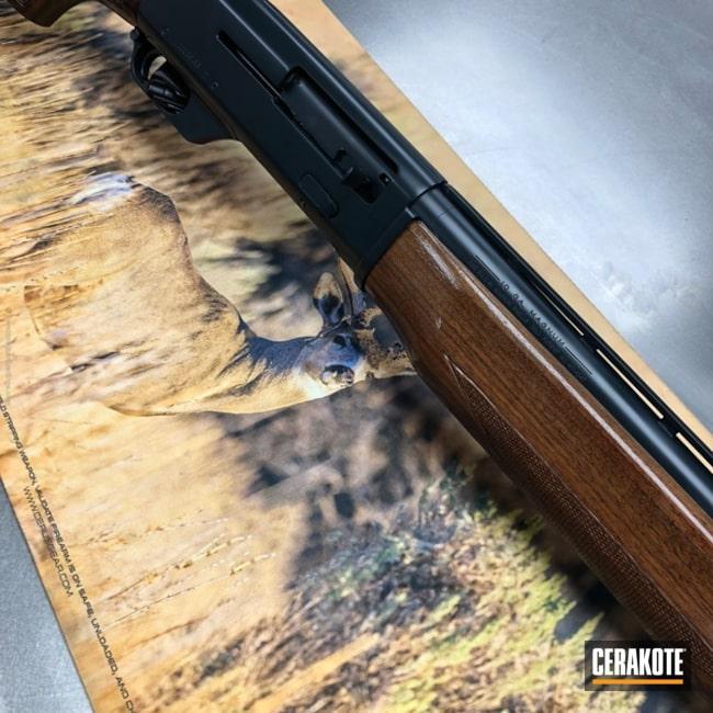 Cerakoted: Ithaca Gun Company,Midnight E-110,Shotgun,Ithaca Mag-10,Waterfowl,Mag-10,Semi-Auto