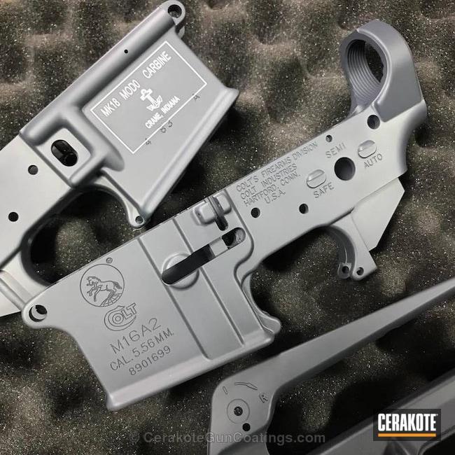 Cerakoted: Stone Grey H-262,Lower,Colt