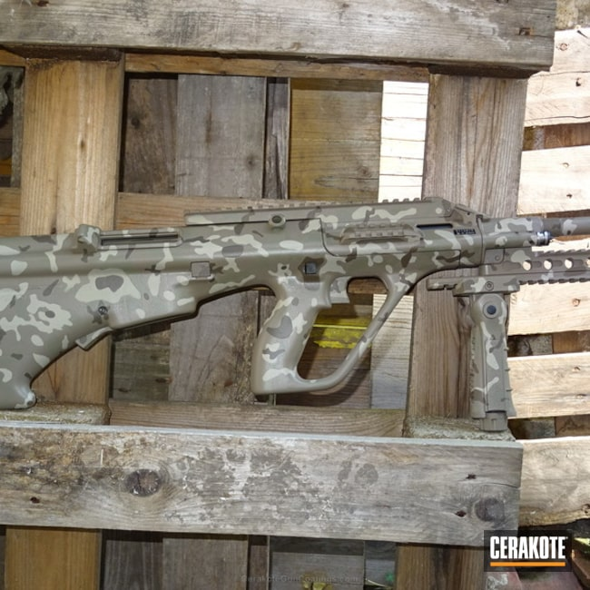 "Thumbnail image for project ""Cerakote MultiCam Steyr AUG Z"""