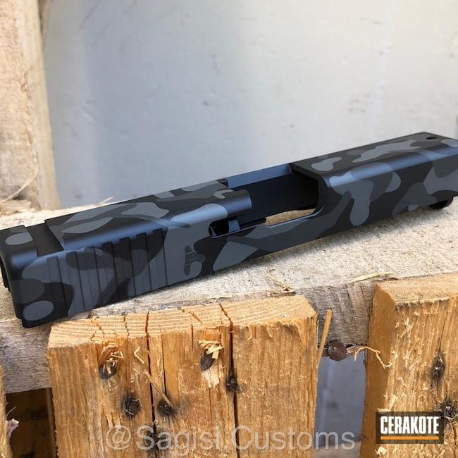 Cerakoted: MultiCam,Graphite Black H-146,Glock,Smoke E-120,Concrete E-160,Concrete E-160G,Slide