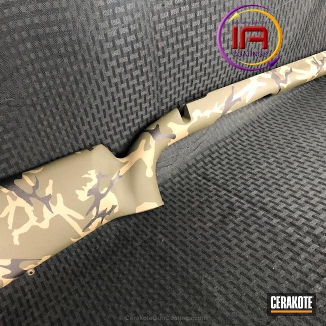 Cerakoted: Rifle Stock,MAGPUL® FLAT DARK EARTH H-267,MultiCam,Graphite Black H-146,O.D. Green H-236