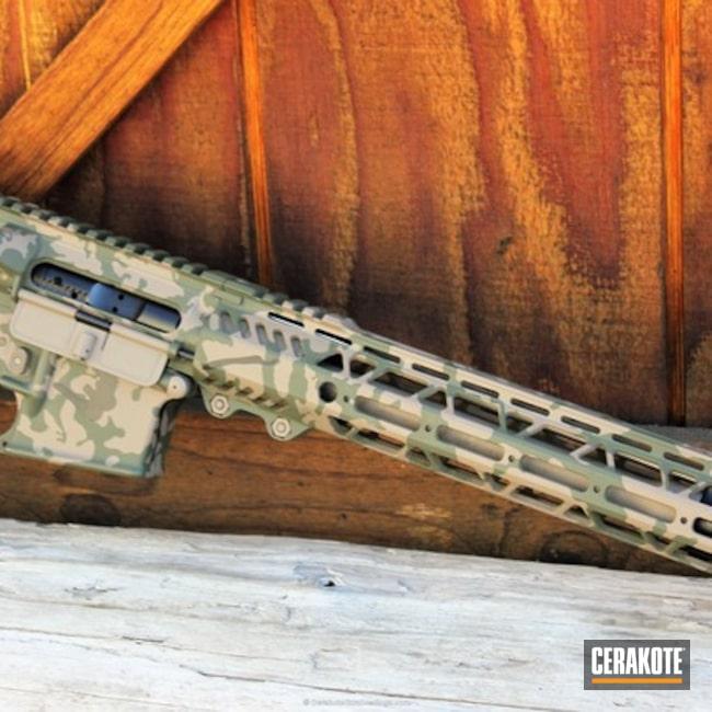 Cerakoted: MultiCam,Graphite Black H-146,Tactical Rifle,O.D. Green H-236,Flat Dark Earth H-265,AR-15