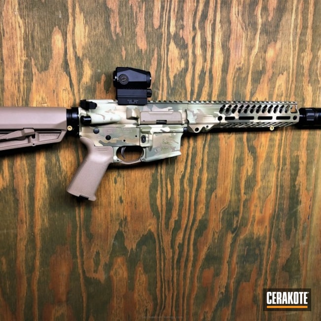 Cerakoted: Coyote Tan H-235,Desert Sage H-247,MultiCam,Gen II Flat Dark Earth HIR-265,Tactical Rifle