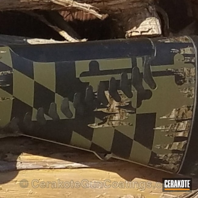 Cerakoted: mdflag,Graphite Black H-146,Benelli,Benelli Super Black Eagle II
