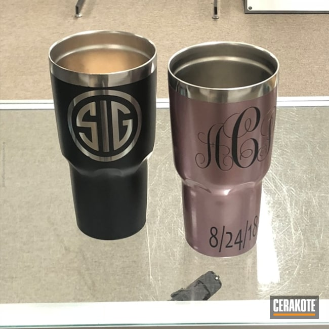 Yeti Cups in a Gun Candy Finish