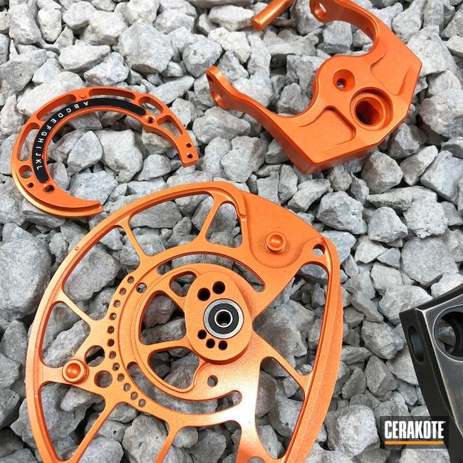 Cerakoted: Custom Mix,Battle Bronze,Compound Bow,Deadpool,Armor Black H-190,More Than Guns,Bow,GunCandy Pulse,Archery,GunCandy,Burnt Bronze H-148,Hunter Orange H-128,Custom Cerakote