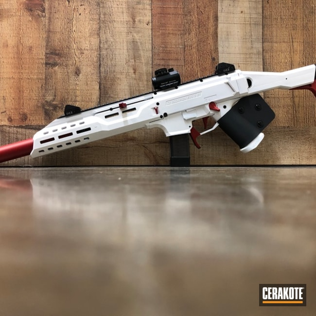 H-216 Smith & Wesson Red and H-297 Stormtrooper White