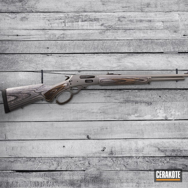 Lever Action Rifle in H-237 Tungsten