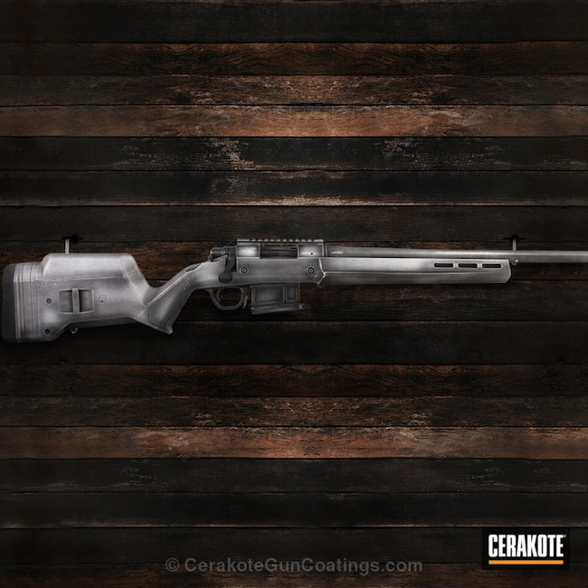 Remington 700 Bolt Action Rifle in a Distressed Finish