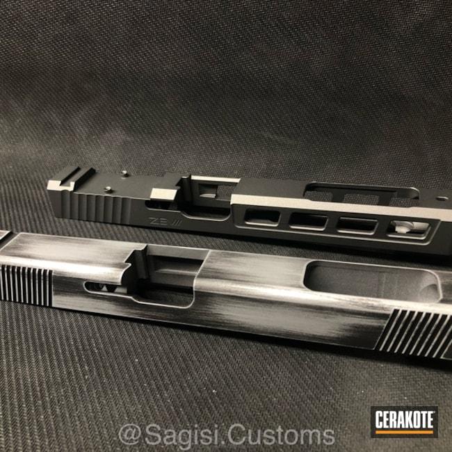 Cerakoted: Battleworn,Graphite Black H-146,Tungsten H-237,Satin Aluminum H-151,Slides