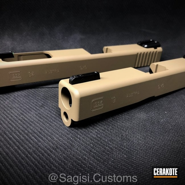 Cerakoted: MAGPUL® FLAT DARK EARTH H-267,Solid Tone,Glock,Glock Slides
