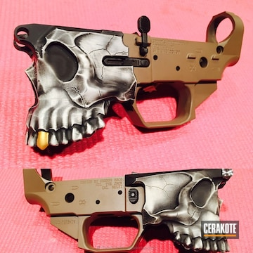 Cerakoted Custom Spike's Tactical The Jack Lower Receiver