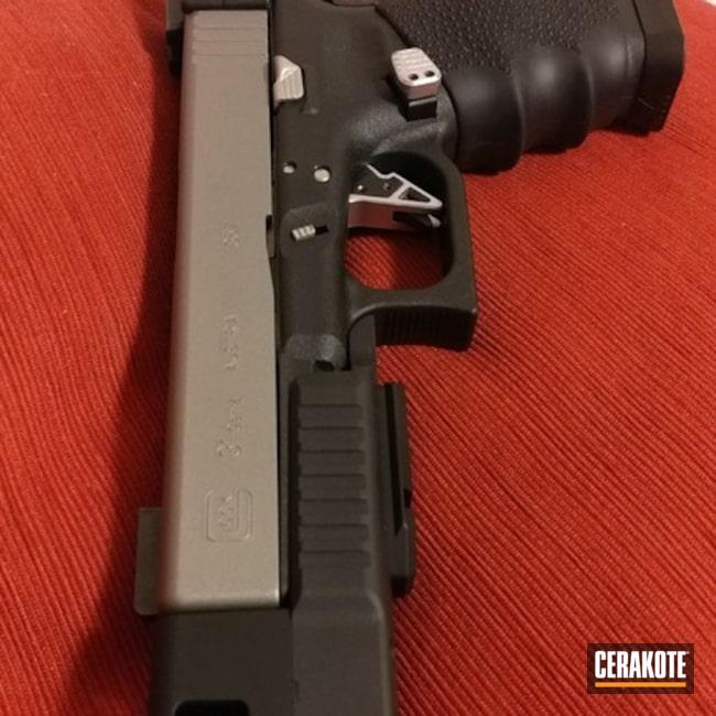 Cerakoted: Titanium H-170,Pistol,Glock,Slide,Glock 31