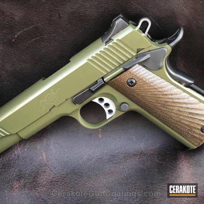 Cerakoted: Sniper Green H-229,Kimber 1911,Pistol,1911
