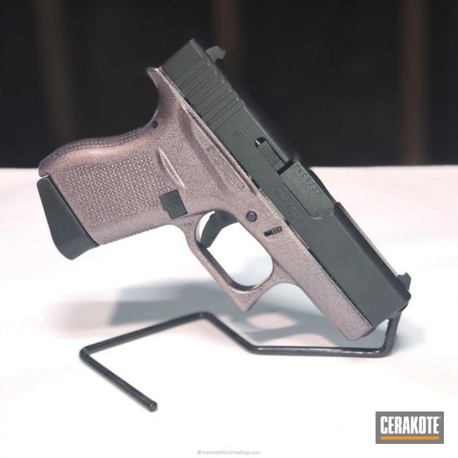 Cerakoted: Graphite Black H-146,Pistol,Glock,HIGH GLOSS ARMOR CLEAR H-300,Glock 43