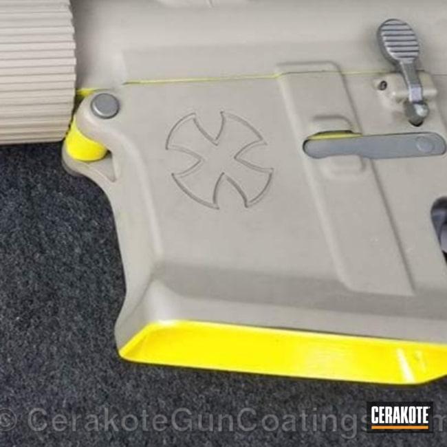 Cerakoted: Electric Yellow H-166,Noveske,.300 Blackout