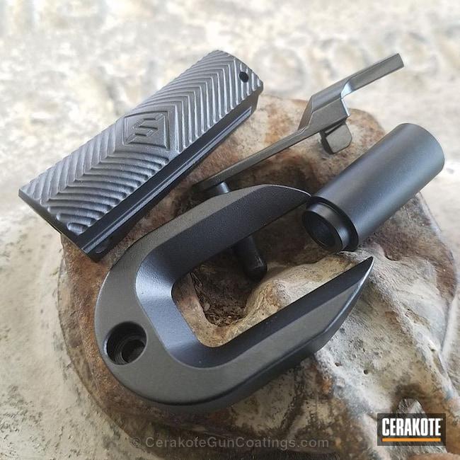 Cerakoted: Graphite Black H-146,Gun Parts,Handguns