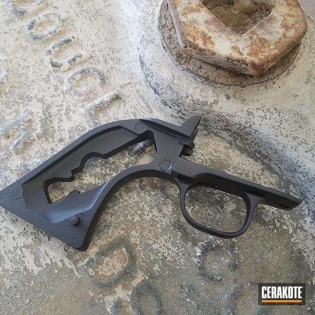 Cerakoted: Ruger,Graphite Black H-146,Gun Parts,Handguns