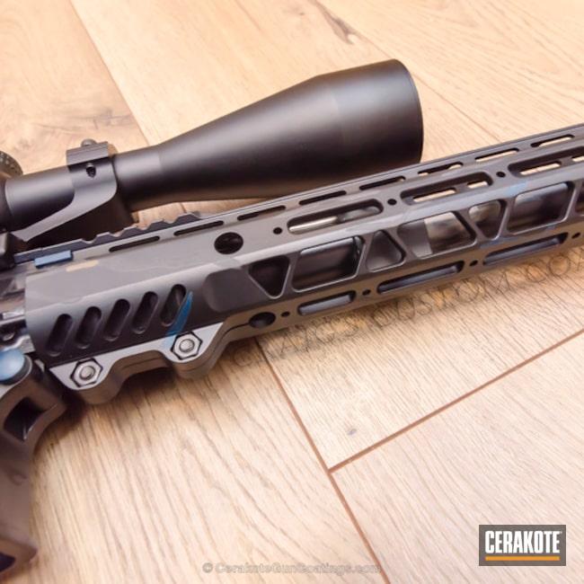 Cerakoted: Tiger Stripes,New Frontier Armory,Graphite Black H-146,Burnt Bronze H-148,Midnight Camo,Cobalt H-112,.300 Blackout,Sky Blue H-169,AR-15