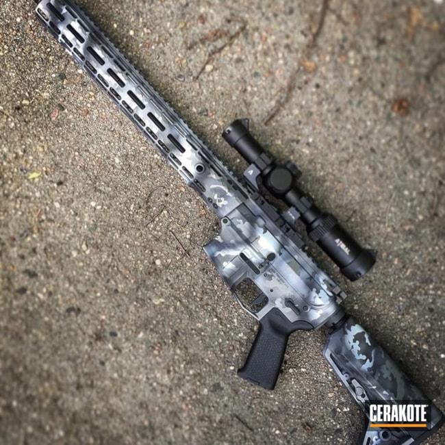 Cerakoted: MultiCam,Snow White H-136,Graphite Black H-146,Camo,Tactical Rifle,Tactical Grey H-227,Custom Camo