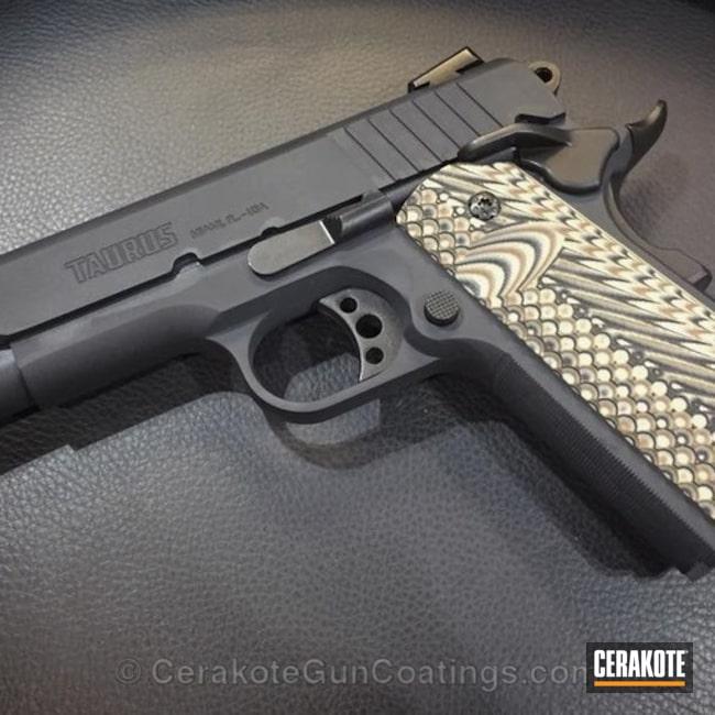 Cerakoted: Rock Island Armory 1911,MAGPUL® STEALTH GREY H-188,Pistol,1911