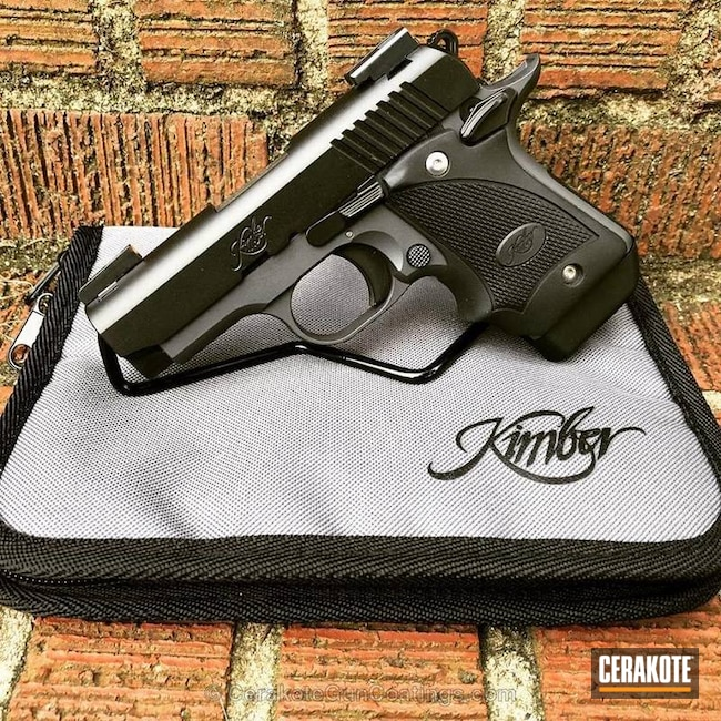 Kimber Micro Carry done in Graphite Black and Sniper Grey