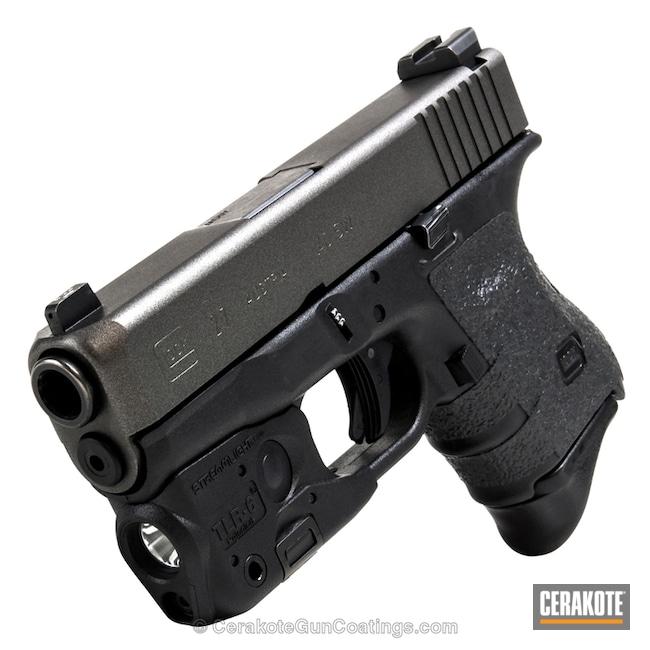 Cerakoted: Graphite Black H-146,Tungsten H-237,Pistol,Glock,Glock 27