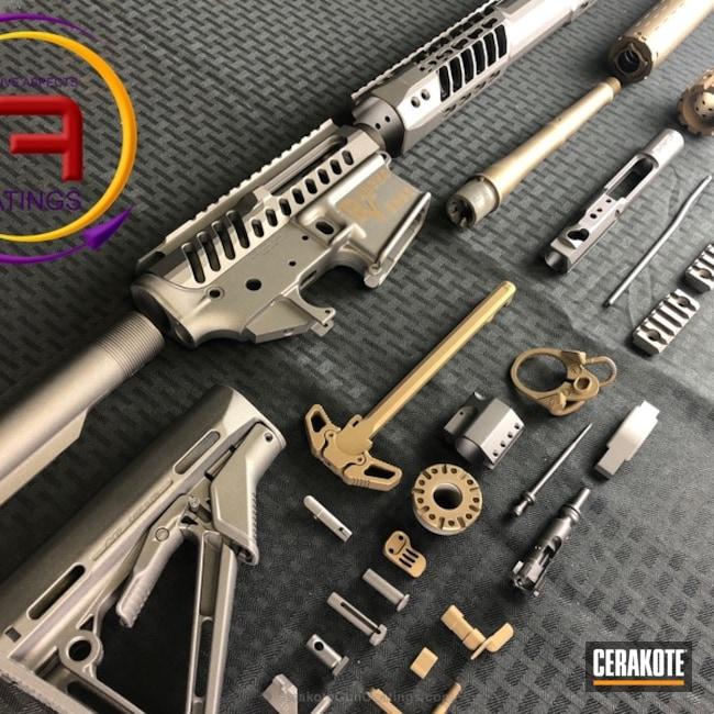 Cerakoted: Burnt Bronze C-148,Burnt Bronze H-148,Tungsten H-237,Gun Parts