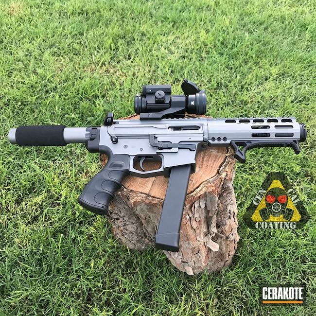 Cerakoted: AR Pistol,Graphite Black H-146,Two Tone,Tungsten H-237