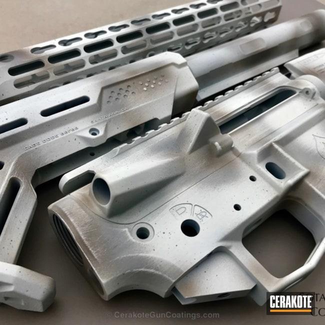 Cerakoted: Bright White H-140,Gun Parts,Snow Camo