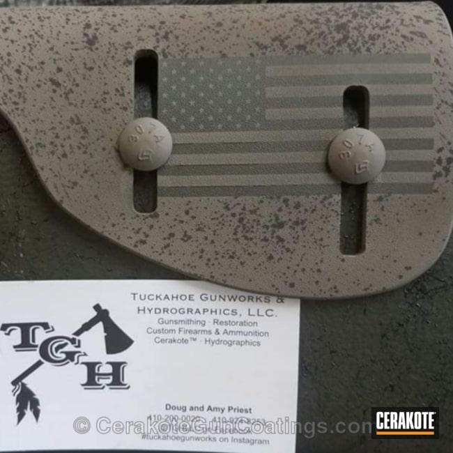Cerakoted: Graphite Black H-146,American Flag,Flat Dark Earth H-265,Miscellaneous