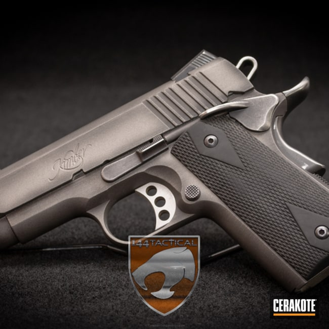 Cerakoted: Battleworn,Kimber,Gun Metal Grey H-219,Pistol,Ultra Carry II