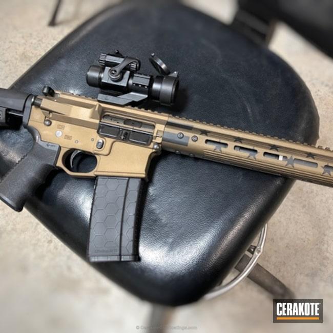 Cerakoted: Graphite Black H-146,Two Tone,Burnt Bronze H-148,Tactical Rifle