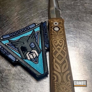 Cerakoted Custom Otf Knife