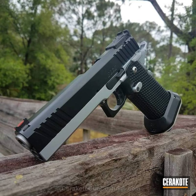 Cerakoted: Graphite Black H-146,Pistol,2011
